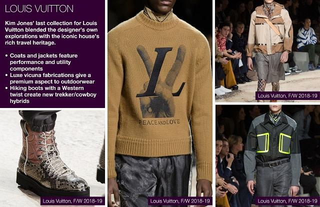 #Trendstop FW 18/19 Menswear Fashion Week on #WeConnectFashion. Designer Collection: Louis Vuitton