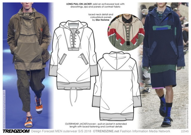 #Trendzine SS 2018 trends on #WeConnectFashion. Menswear, Outerwear