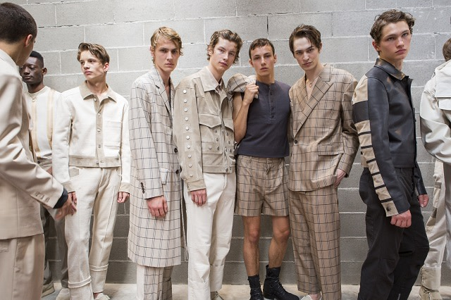 #Trendstop SS18 Menswear trends on #WeConnectFashion. Image courtesy of Trendstop. Dirk Bikkembergs S/S 2018 collection.