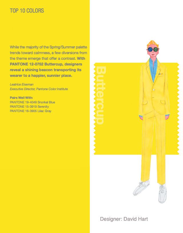 New York Fashion Week Spring 2016 Pantone Color