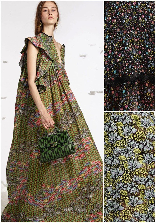 Patternbank on #WeconnectFashion. NYFW Spring 2017 - Cynthia Rowley, photo courtesy of #Vouge