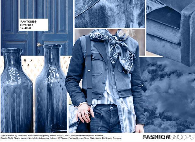 #Pantone #FashionSnoops NYFW Fall 2016 Report on #WeConnectFashion. Key Color: Riverside