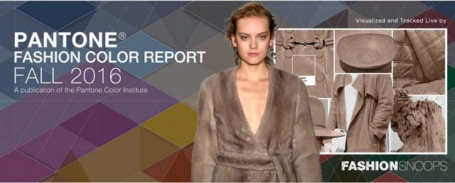 #Pantone Fashion Color Report Fall 2016 #FashionSnoops Live Runway Confirmation