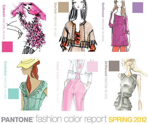 ... - Fashion Week Spring 2012 Pantone Color Trends | WeConnectFashion