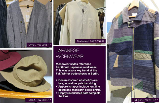 #Trendstop on #WeConnectFashion, Menswear trends FW 16/17 Paris tradeshows: Japanese Workwear.