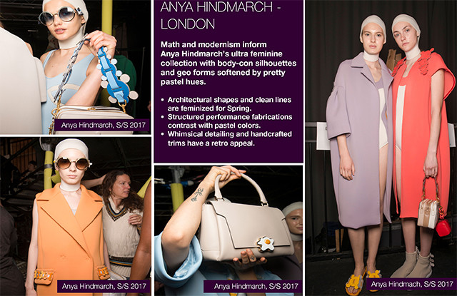 #Trendstop Top Runway Collections on #WeConnectFashion. Women's SS17: Anya Hindmarch - London