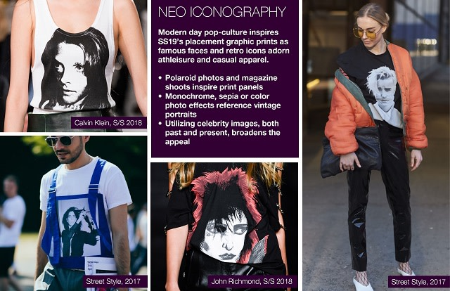 #Trendstop SS19 Graphic direction on #WeConnectFashion. Theme: Neo Iconography