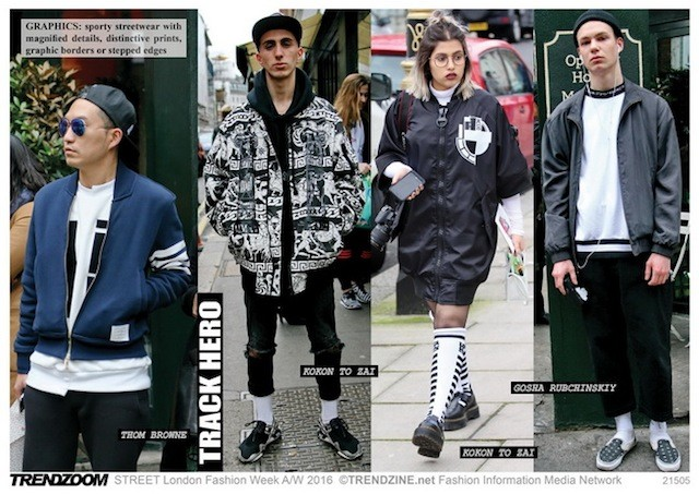 #Trendzine London #streetstyle on #WeConnectFashion. Track Hero looks