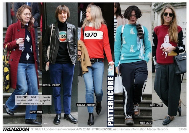 #Trendzine London #streetstyle on #WeConnectFashion. Patterncore looks