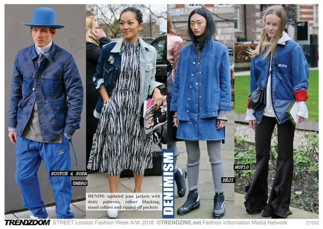 #Trendzine London #streetstyle on #WeConnectFashion. Denimism customization