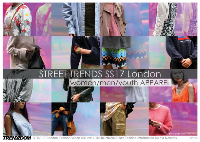 #Trendzine SS 2017 trends on #WeConnectFashion. STREET London Fashion Week: Apparel