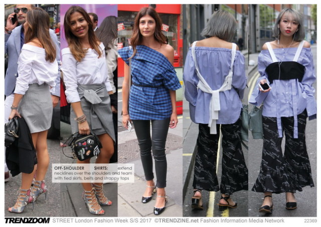 #Trendzine SS 2017 trends on #WeConnectFashion. STREET London Fashion Week: Women's - Fashion