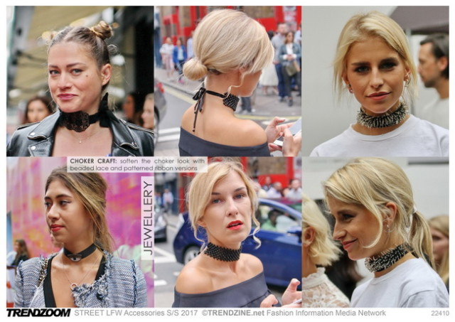#Trendzine SS 2017 trends on #WeConnectFashion. STREET London Fashion Week: Jewellery
