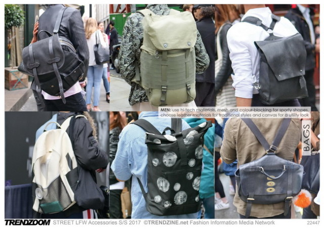 #Trendzine SS 2017 trends on #WeConnectFashion. STREET London Fashion Week: Bags