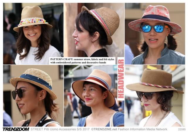 #Trendzine SS 2017 trends on #WeConnectFashion. Piiti Uomo tradeshow: Accessories - Accessories, Headwear