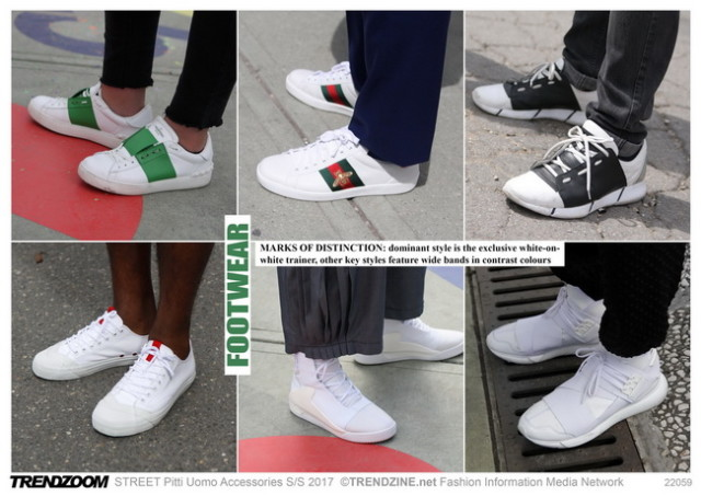 #Trendzine SS 2017 trends on #WeConnectFashion. Piiti Uomo tradeshow: Mens Footwear
