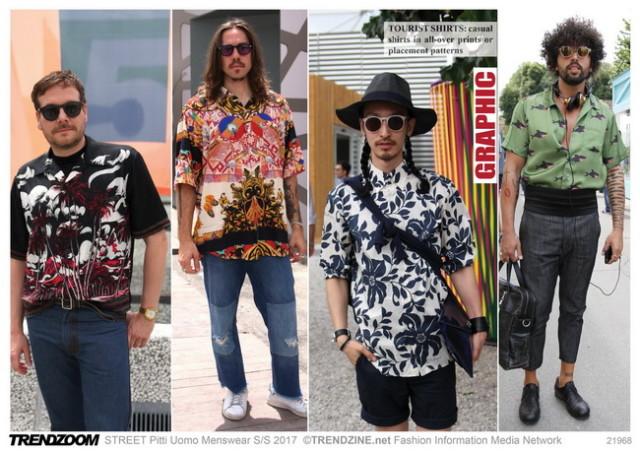 #Trendzine SS 2017 trends on #WeConnectFashion. Piiti Uomo tradeshow: Men's - Graphics