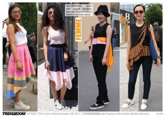 #Trendzine SS 2017 trends on #WeConnectFashion. Piiti Uomo tradeshow: Women's - the Femme Look