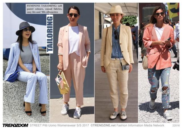 #Trendzine SS 2017 trends on #WeConnectFashion. Piiti Uomo tradeshow: Women's - Tailoring