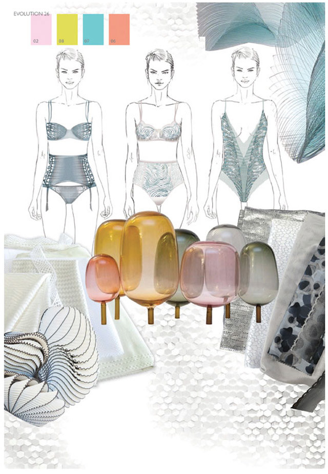 #Interfiliere SS17 Swim and Intimates trends on #WeConnectFashion. Theme 4 - Soft Tech