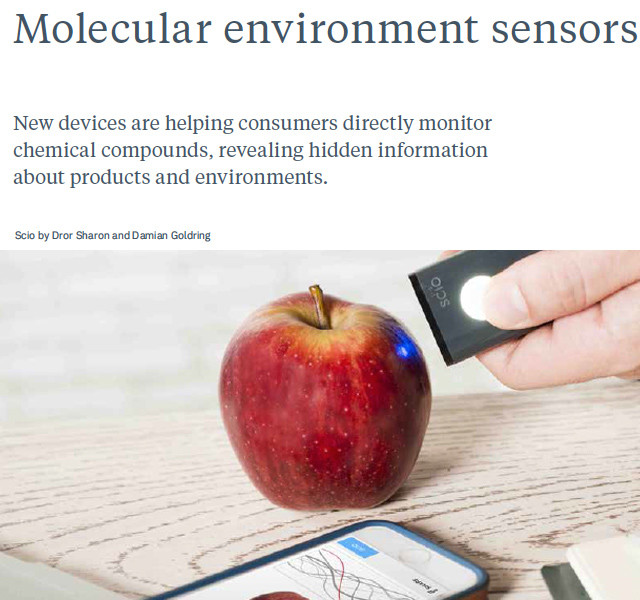 #JWT future 2016 #trend report on #WeConnectFashion, Molecular Sensors empower consumers