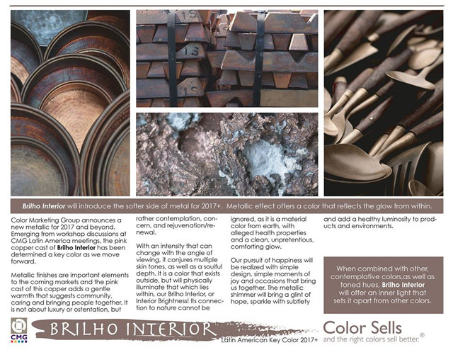 Color Marketing Group presents its key color for Latin America in 2017+