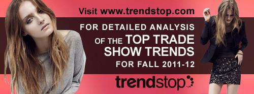 Trendstop 2011 tradeshow banner