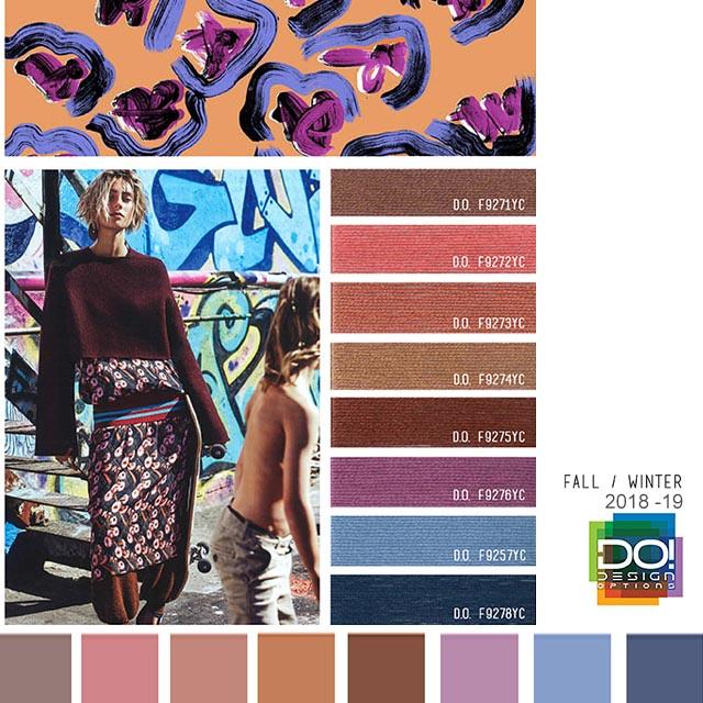 Trends: Fall/Winter - Women's Contemporary Color Forecast F/W 2018