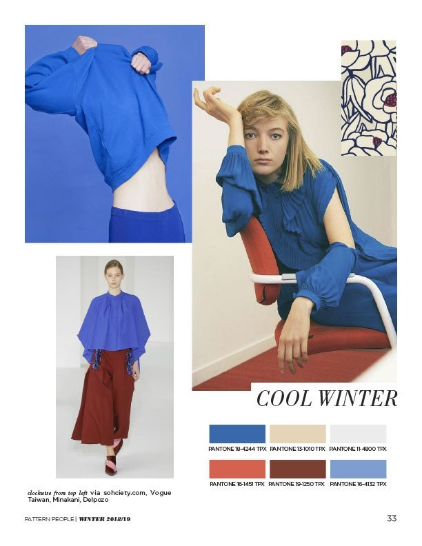 #Pattern People FW 18/19 trend preview, Cool Winter, on #WeConnectFashion