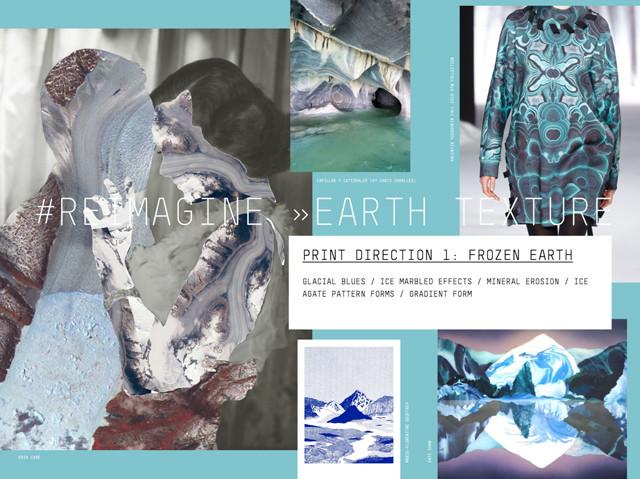 #Patternbank FW 17/18 print direction on #WeConnectFashion: Reimagine > Earth Texture.