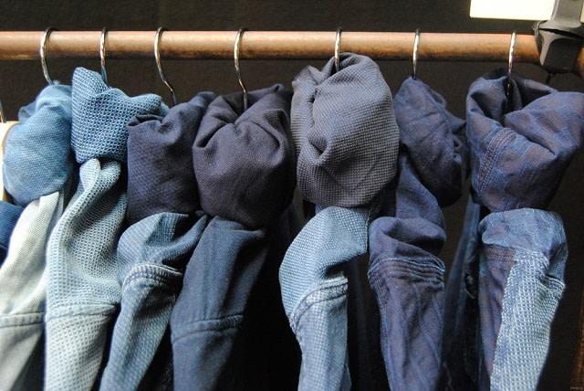 Tendencias del dril de algodón #Trendstop SS19 en #WeConnectFashion. Imagen cortesía de Trendstop. Prosperidad textil colección S / S 2018.