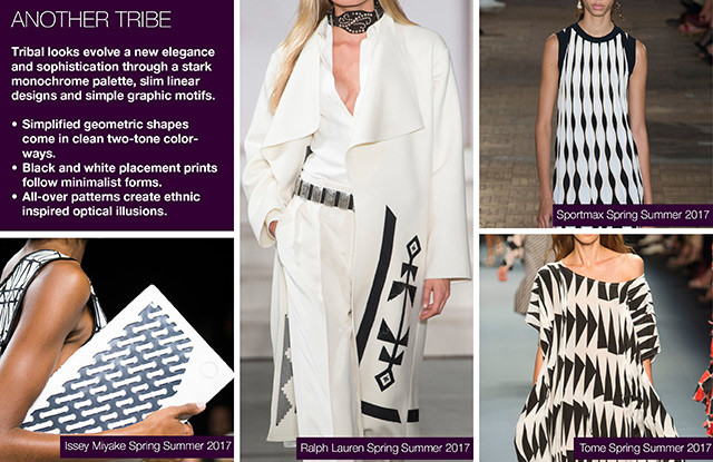 #Trendstop Print trends on #WeConnectFashion. SS 2018 Insight: Another Tribe