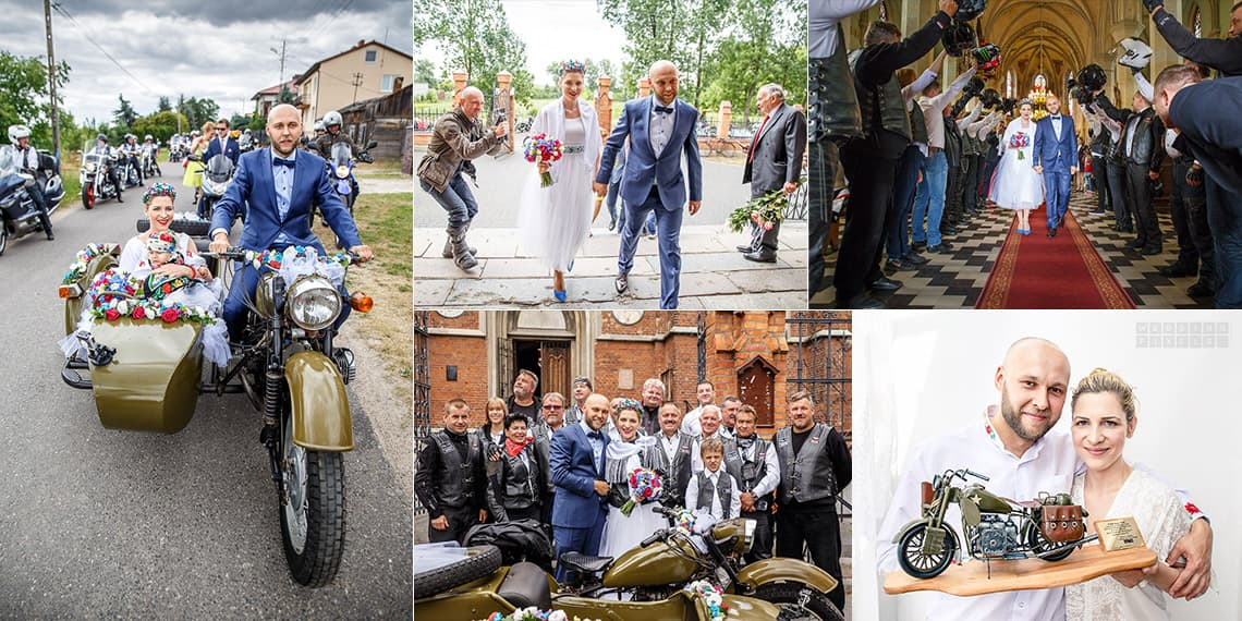 Documentary wedding photography in the countryside