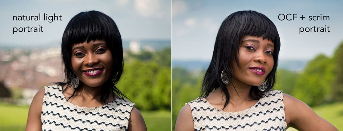 natural light vs off-camera flash technique