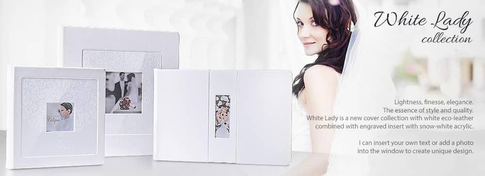 Luxury wedding album