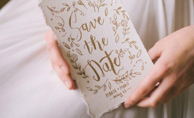 Uitnodiging bruiloft