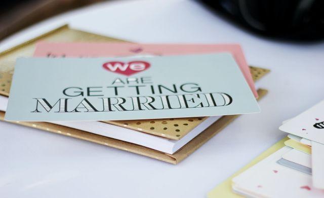 Wat schrijf je op een trouwkaart