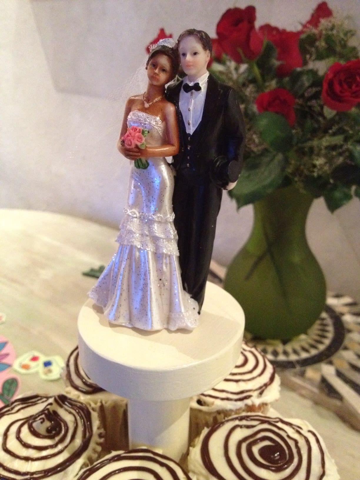 Celebrating our wedding anniversary