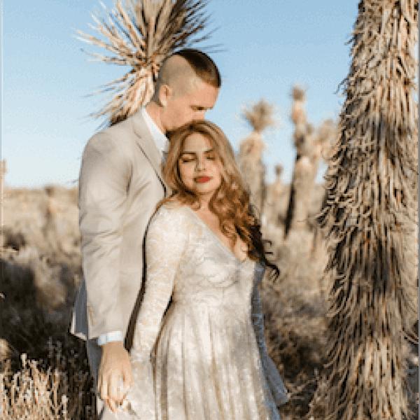 Cheap elopement packages in Desert Elopement