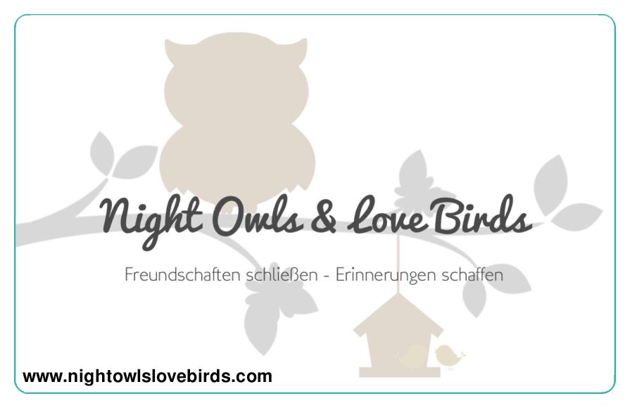 Night Owls & Love Birds