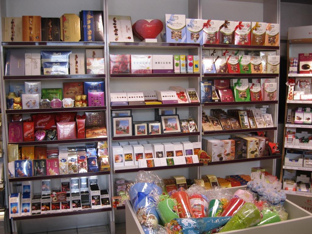 Süßwaren, Pralinés & Präsente