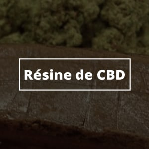 Résine de CBD