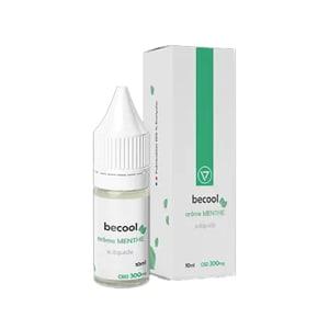 E-liquide Becool arôme menthe 300mg de CBD