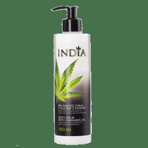 Lotion pour le corps à l'huile de CBD India