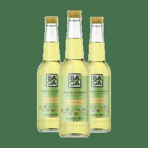 Baga Pomme-Kiwi & Camomille (12 bouteilles) – 25mg de CBD