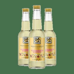 Baga Pêche & Verveine (12 bouteilles) – 25mg de CBD