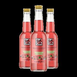 Baga Framboise & Mélisse (12 bouteilles) – 25mg de CBD
