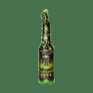 Bière habillée à l'extrait de chanvre – Bouteille