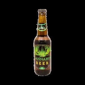 Bière bouteille à l'extrait de chanvre