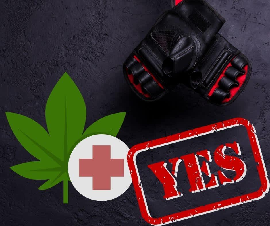 Marihuana w sporcie? UFC jest na tak!